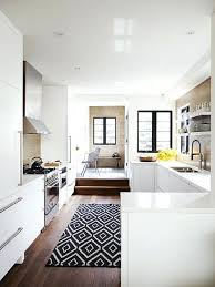 Rug In Kitchen With Hardwood Floor Rugs In Kitchen Setbi Club