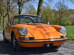 porsche 911 orange 1971 porsche 911 2 2t soft window targa turn8 cars