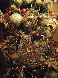 decorating a tree in gold copper and gantt s