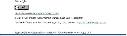 design criteria tmr manual design criteria for bridges and other structures pdf