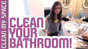 How To Do Laundry In The Bathtub How To Clean A Bathroom The Best Bathroom Cleaning Tutorial