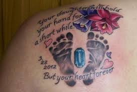 baby footprint ideas sweet and meaningful baby footprint tattoo ideas