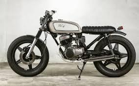 honda cb 125 inazuma café racer rua machine cb125 motor cycle pinterest