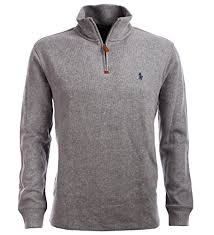 pullovers u2013 polo ralph lauren men u0027s half zip french rib cotton