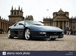 rally ferrari ferrari f355 spider at the ferrari owners club rally at blenheim