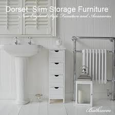 Slim Bathroom Furniture Slim Storage For Your Bathroom Only 25 Cm Wide And The