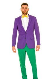 mardi gras tuxedo all of the colors of bourbon men s purple yellow and green