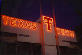 texas tech neon light once the largest neon sign in the world jan christian jolene