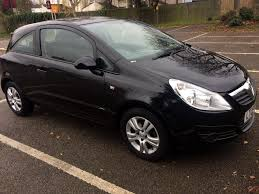 vauxhall corsa 2009 u2022 1 2 u2022 manual u2022 3 door u2022 black u2022 long mot