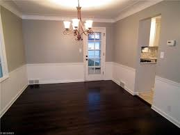 shaker heights oh dining room remodel refinished hardwood