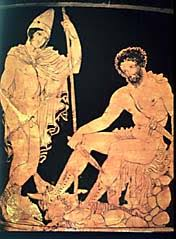 Tiresias The Blind Prophet Odysseus In Hades The Odyssey By Homer Personal Journal And