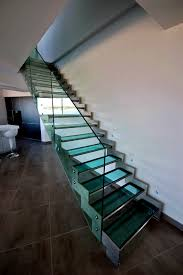 escalier garde corps verre escalier krema kre005 kozac