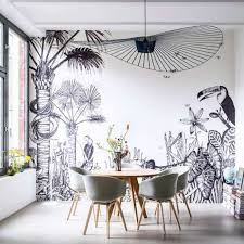 choosing wall murals for your interior wearefound home design