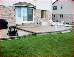 Exposed Aggregate Patio Pictures by Stamped Concrete Patios Cement Exposed Aggregate Concrete Driveway