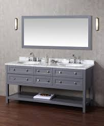 72 Bathroom Vanity Double Sink stufurhome marla 72 inch double sink bathroom vanity with mirror
