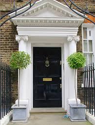 georgian colonial front doors never met a black door i didn u0027t