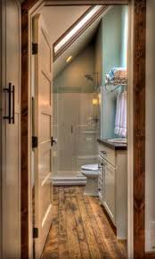 Small Attic Bathroom Sloped Ceiling by 52 Cool And Smart Attic Bathroom Designs Comfydwelling Com
