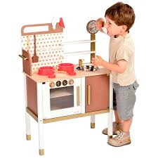 janod cuisine janod maxi cuisine chic play kitchen building blocks