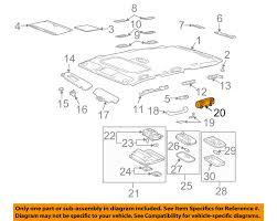 lexus gx470 interior lexus toyota oem 06 09 gx470 interior roof coat hanger hook left