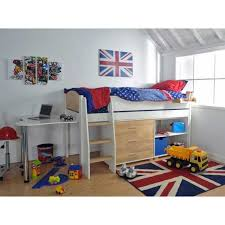 loft beds for kids childrens high sleeper beds with wardrobe