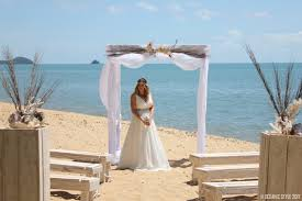 wedding arches cairns queensland australian weddings cairns palm cove port