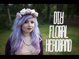 flower headbands diy diy floral headband