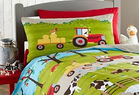 Cow Duvet Cover Farm Yard Animal Pig Dog Cow Sheep Tractor Single Duvet Quilt
