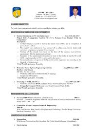 resume format for lecturer in computer science objective of resume for lecturer career objective for teachers resume sample resume career objective for teachers resume sample resume