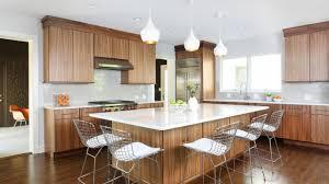 mid century modern walnut kitchen cabinets 15 beautiful mid century modern kitchen interior designs