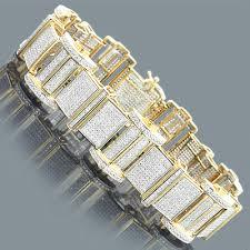 bracelet diamond men images Fantastic mens bracelets this 10k or 14k gold mens diamond jpg