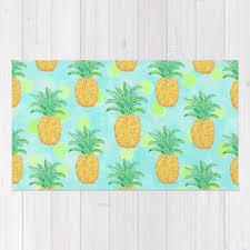 Pineapple Area Rug Shop Polka Dot Area Rug On Wanelo