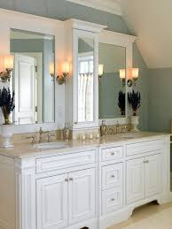 white bathroom cabinets off white cabinets transitional bathroom