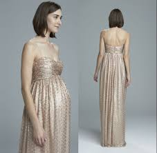 gold maternity bridesmaid dress 2016 maternity bridesmaid dresses honor of formal gown with