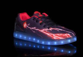 led light up shoes big kids led light up shoes pulsar black red cheap sale