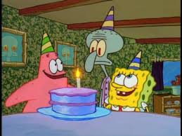 happy birthday squidward encyclopedia spongebobia fandom