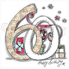 60 Birthday Cards 60th Birthday Card 60th Birthday Cards Sixtieth Birthday Cards