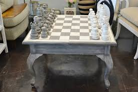 what u0027s new wednesday grey u0026 white chess table heather scott