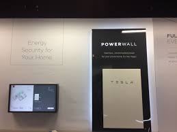 tesla solar is now going up in showrooms beside the tesla