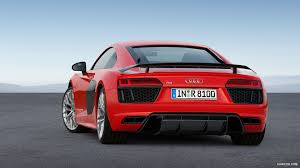 2016 audi r8 wallpaper 2016 audi r8 v10 plus dynamit red rear hd wallpaper 11