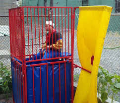 dunk tanks awesome party idea get a dunk tank kicking back with jersey