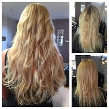 18 inch hair extensions before and after hair extensions leeds mango hair salon and freelance mobile service