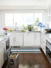 kitchen decor ideas for white cabinets modern furniture 2013 white kitchen decorating ideas from bhg