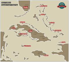 Map Of Treasure Island Florida by Map Of The Caribbean Basic Info Assassin U0027s Creed Iv Black
