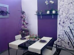 best fresh purple dining room accent wall 17400