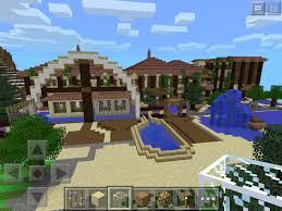 minecraft pocket edition manor house and italian style villa