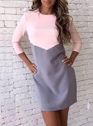 color block dresses cheap price