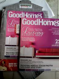 received free sample good home decor magazine narolac paint