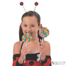 halloween swirl lollipops large cherry flavored swirl lollipops