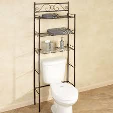 bathroom space saver ideas scroll bronze bathroom space saver