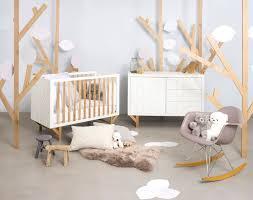chambre bébé bois naturel lit de bébé 15 modèles tendance côté maison